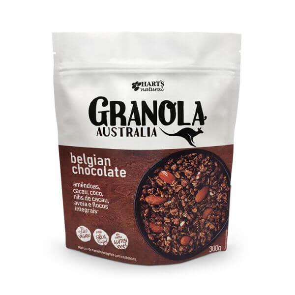 Granola Australiana Belgian Chocolate 300gr - Harts