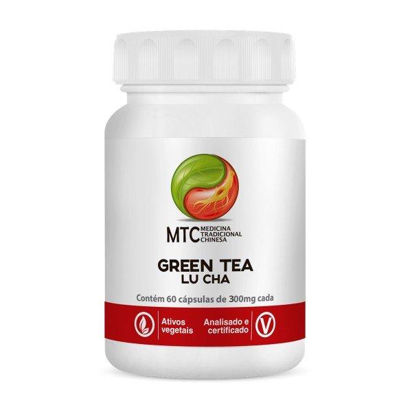 Green Tea (lu Cha) 60 Cápsulas De 400mg - Vitafor