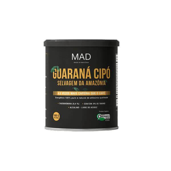 Guaraná Cipó em Pó 100g - MAD