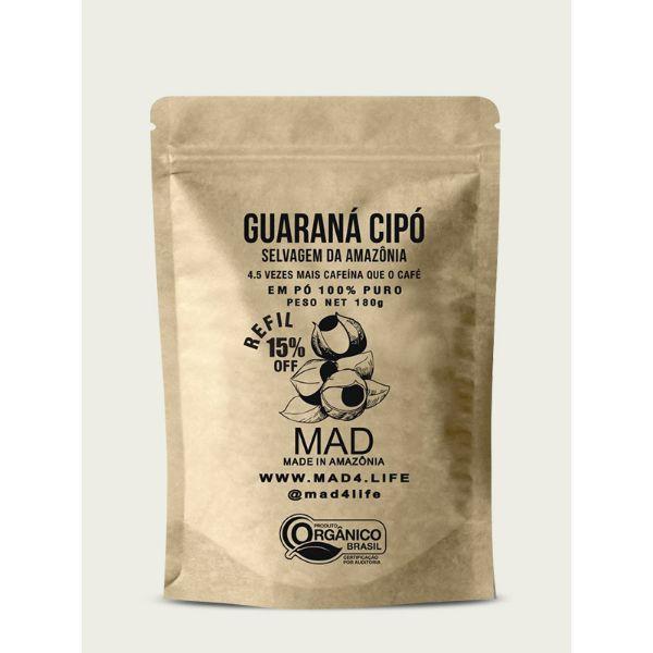 Guaraná Cipó em Pó Pack 180gr - MAD