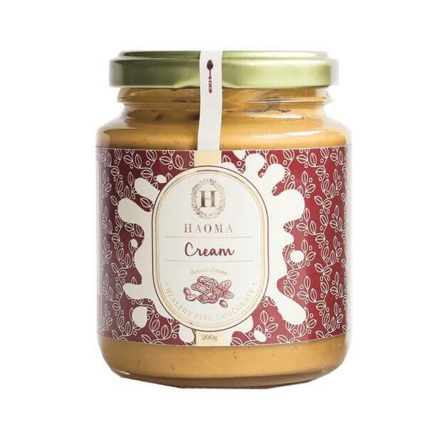 Haoma Cream - Pasta De Amendoim Com Chocolate Belga 200gr - Haoma