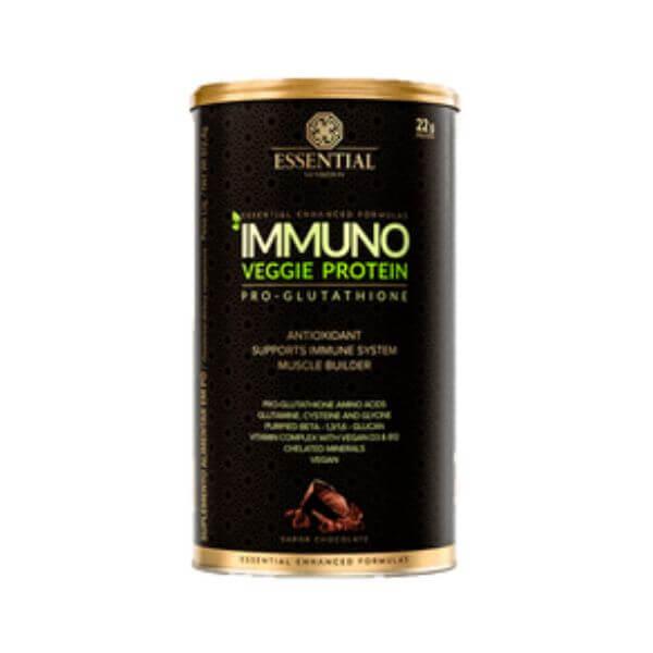 Immuno Veggie Cacao Lata 512gr - Essential Nutrition