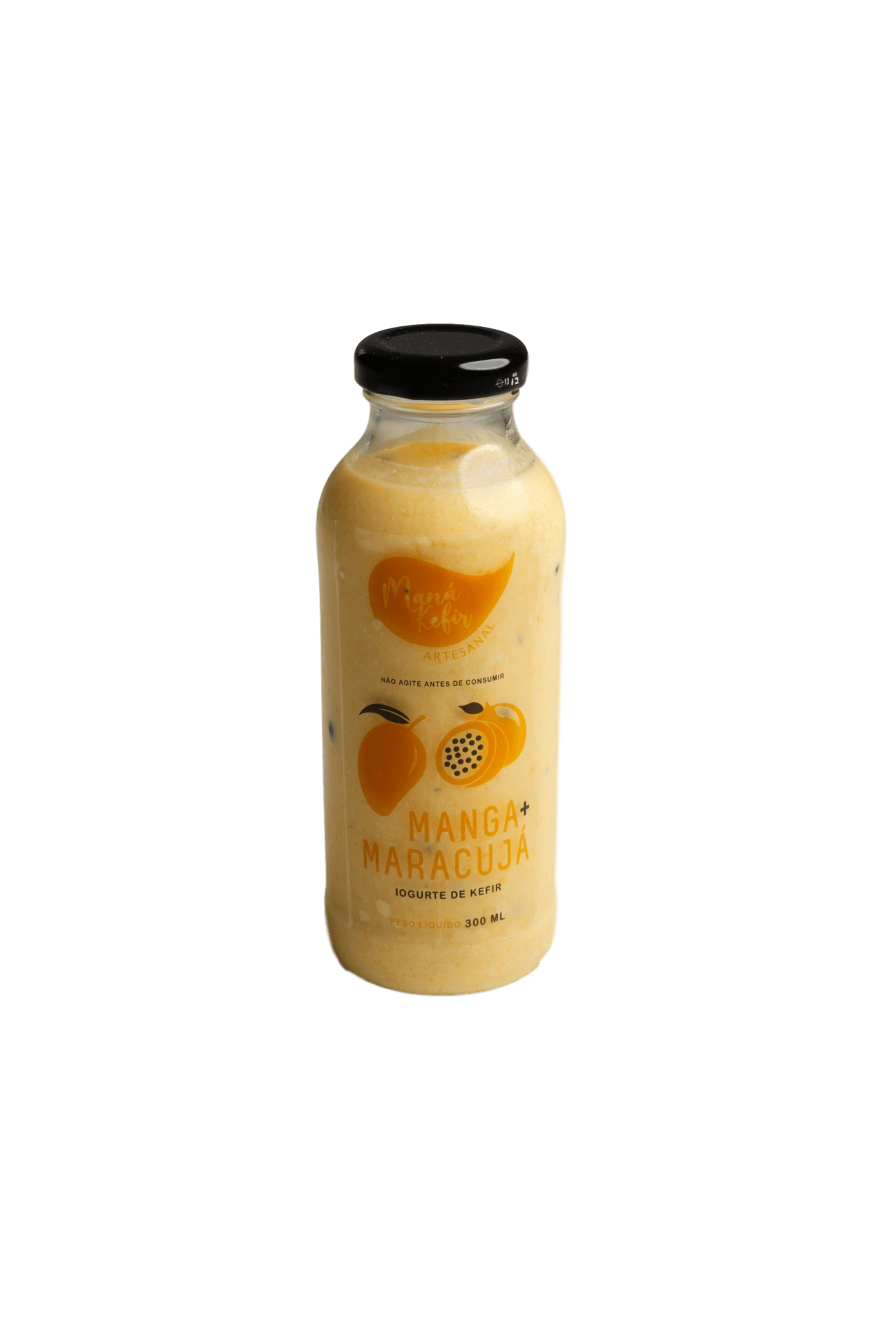 Iogurte De Kefir Manga E Maracuja 300ml - Mana Kefir