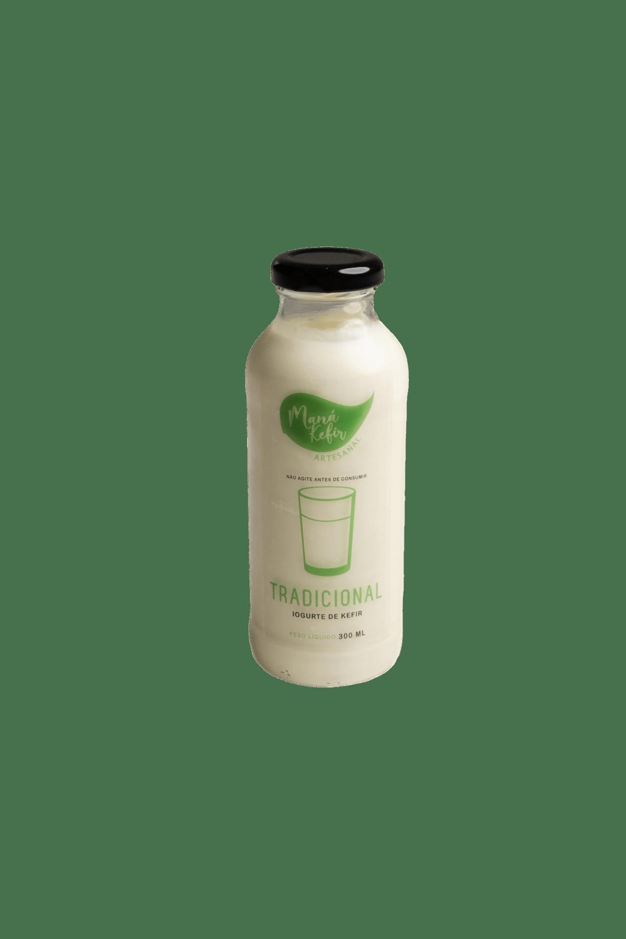 Iogurte De Kefir  Natural 300ml - Mana Kefir