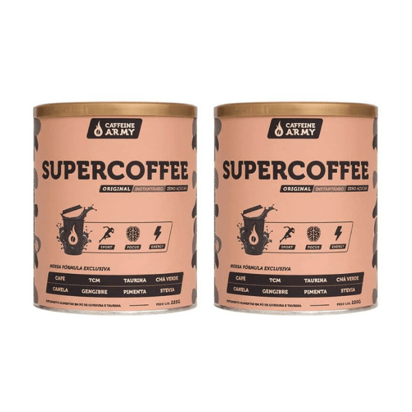 Kit 2unds SuperCoffe 285gr - Caffeine Army