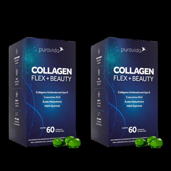 Kit 2x Collagen Flex Beauty 60 Capsulas De 700mg - Pura Vida