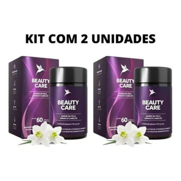 Kit Com 2 Und - Beauty Care 60 Capsulas De 500mg - Pura Vida