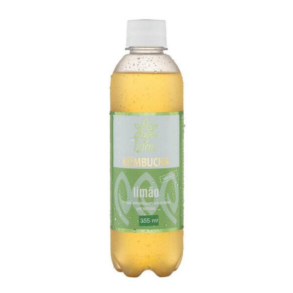 Kombucha de Limão PET 355ml - Laau Kombucha