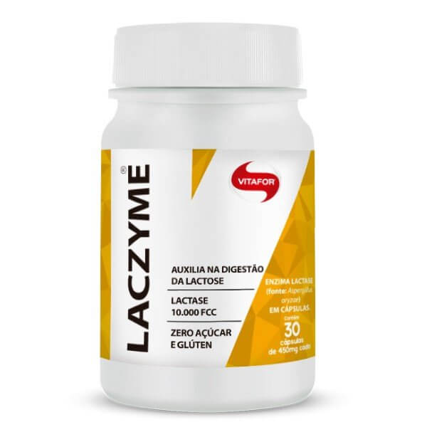 Laczyme (Lactase) 30Cápsulas De 50gr - Vitafor