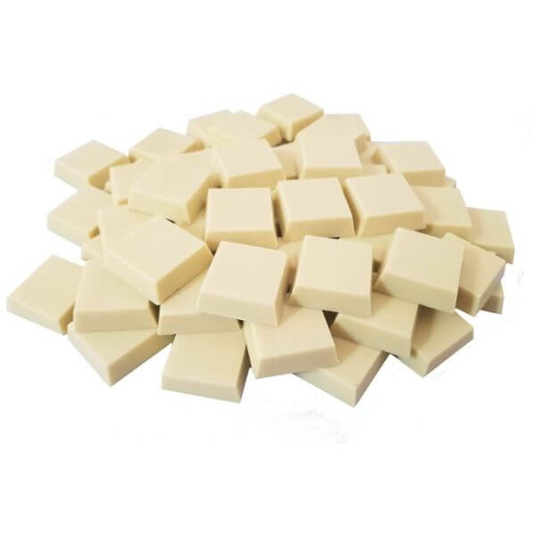 Lascas De Chocolate Branco Com Leite De Coco 1kg - Nutrawell