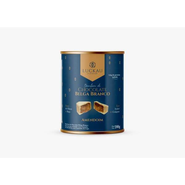 LATA  Bombom Creme de Amendoim  Branco 10 und - Luckau