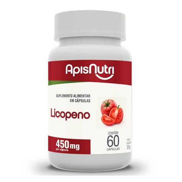 Licopeno 60 Cápsulas De 450 mg - Apisnutri