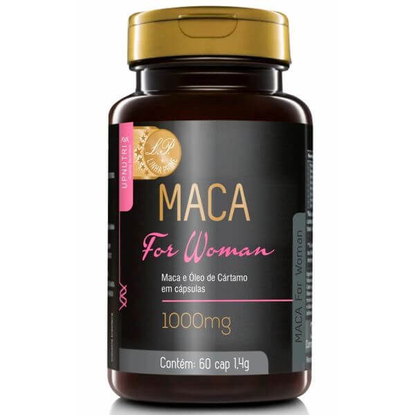 Maca For Woman 60 Cápsulas De 1000mg - Upnutri