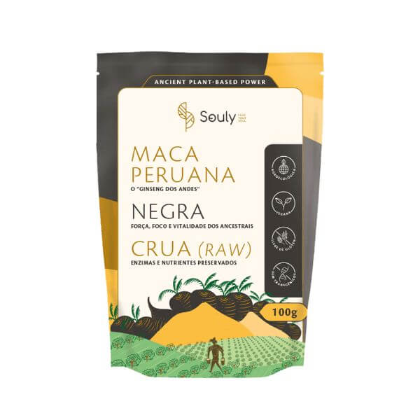Maca Peruana Negra 100gr - Souly