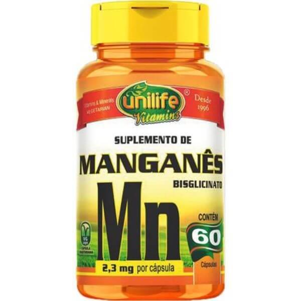 Manganês Bisglicinato