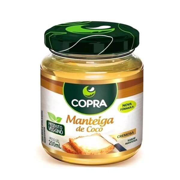 Manteiga de Coco Tradicional 200gr - Copra