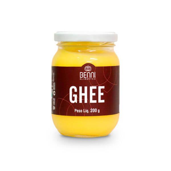 Manteiga Ghee 200gr - Benni