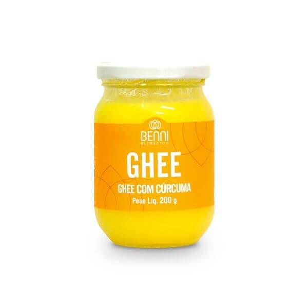 Manteiga Ghee Com Cúrcuma 200Ggr - Benni