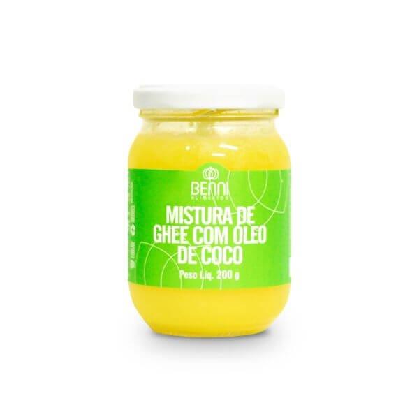 Manteiga Ghee Com Óleo De Coco 180gr - Benni