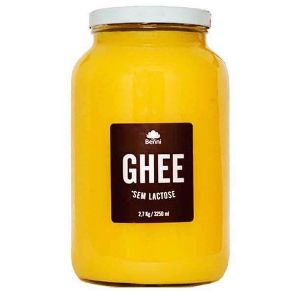 Manteiga Ghee Familia 2,7kg - Benni