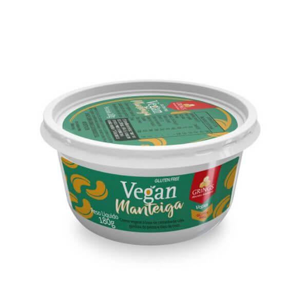Manteiga Vegana c/ Sal 180g - Grings