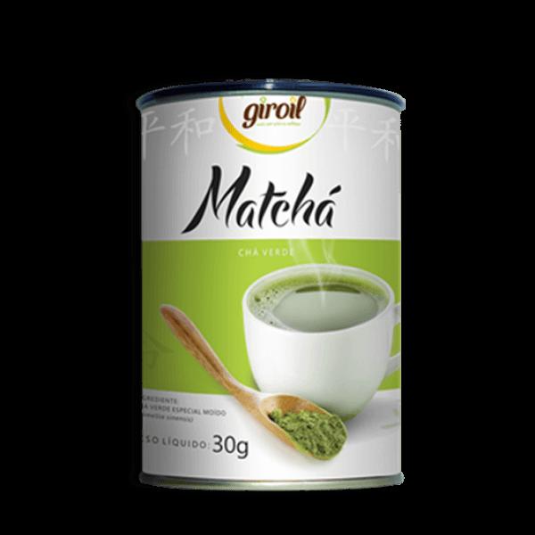 Matchá Chá Verde em Pó 30gr - Giroil