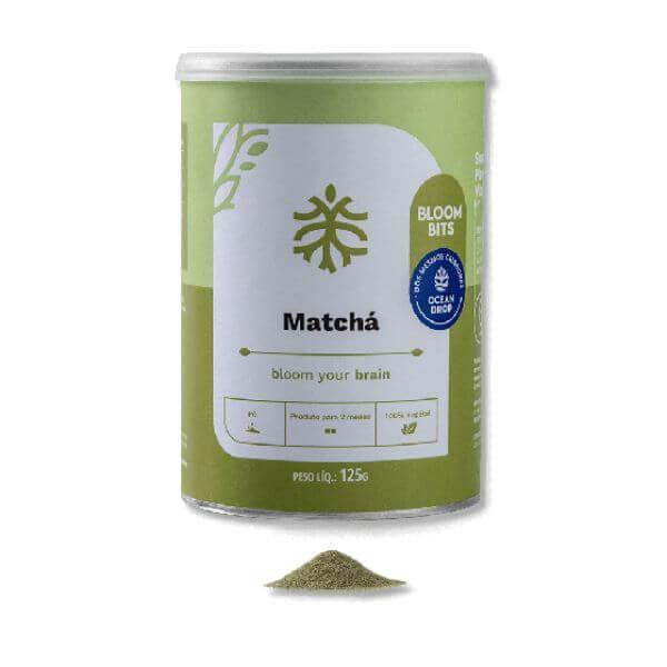 Matcha Em Pó 125g - Ocean Drop - Produto P/ 2 Meses (2g/dia)
