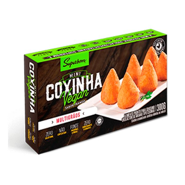 Mini Coxinha Vegana 300gr - SuperBom