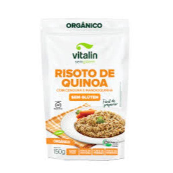 Mistura P/ Risoto De Quinoa Com Cenoura E Mandioquinha 150gr - Vitalin