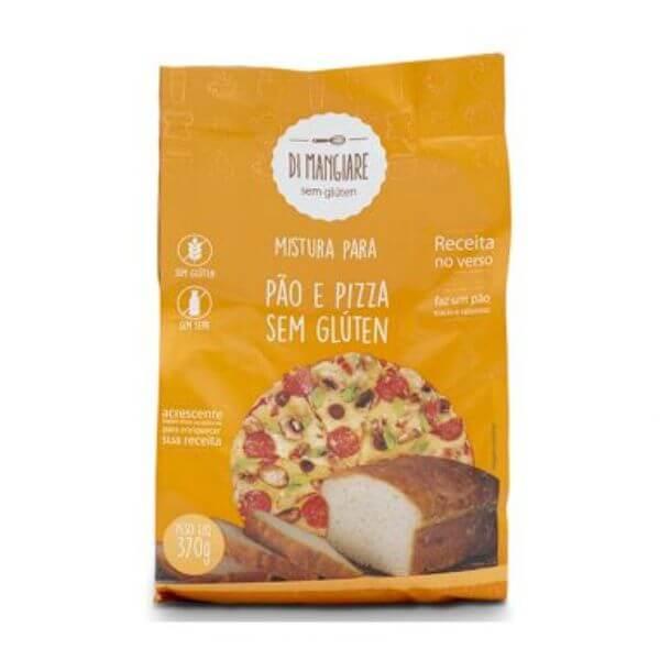 Mistura Para Pão Sem Glúten E Sem Lactose 370gr - Di Mangiare