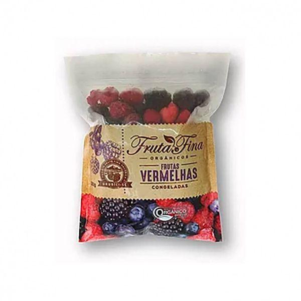Mix de Frutas Vermelhas Orgânica Congelado 300gr - Fina Fruta