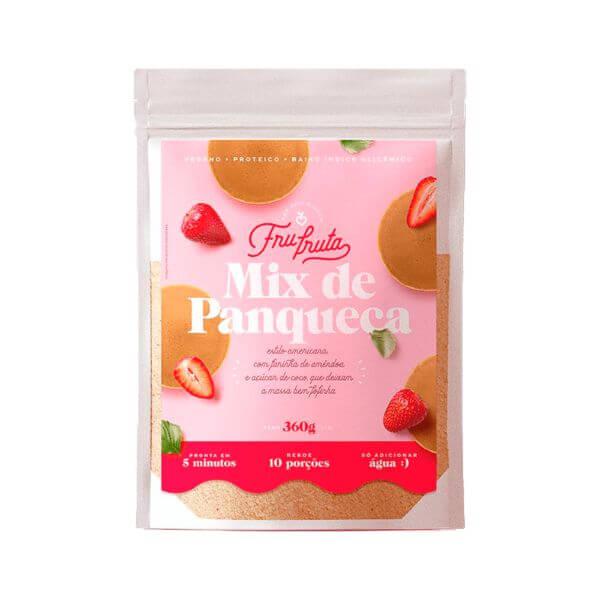 Mix De Panqueca 360gr - Fru-fruta
