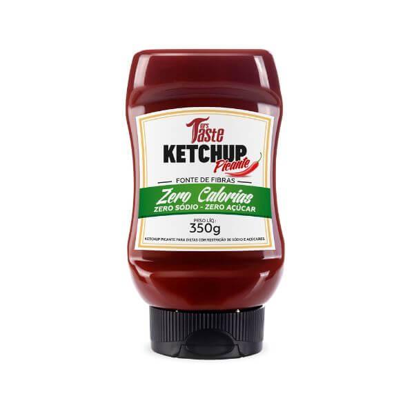 Molho Ketchup Picante Zero Sódio E Açúcar  350gr - Mrs Taste