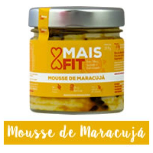 Mousse De Maracuja Zero 200gr - Mais Fit