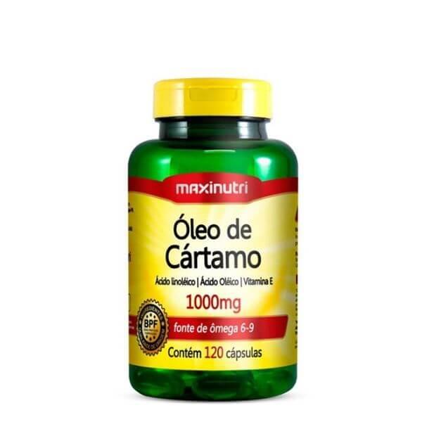 Óleo de Cartamo 1000mg 120 Capsulas - Maxinutri