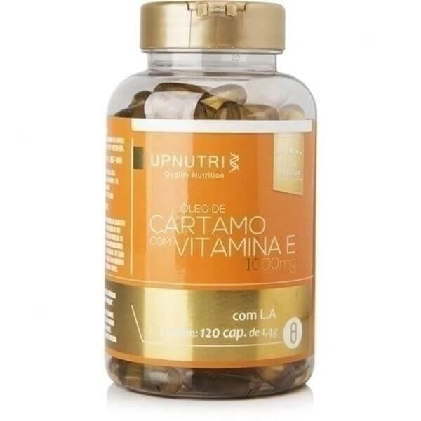 Óleo De Cartamo + Vitamina E 120 Cápsulas De 1000mg - Upnutri