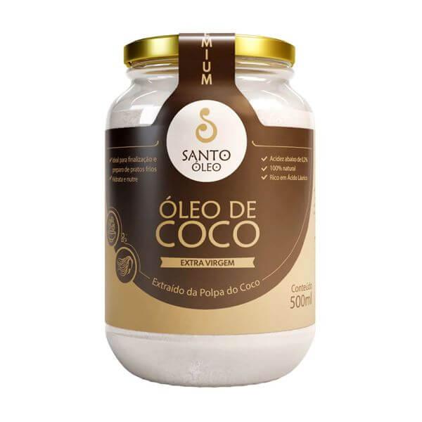 Óleo de Coco Polpa Extra-Virgem 500ml - Santo Òleo