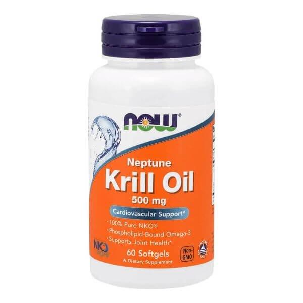 Òleo de Krill Neptune 60 Capsulas de 500ng - Now