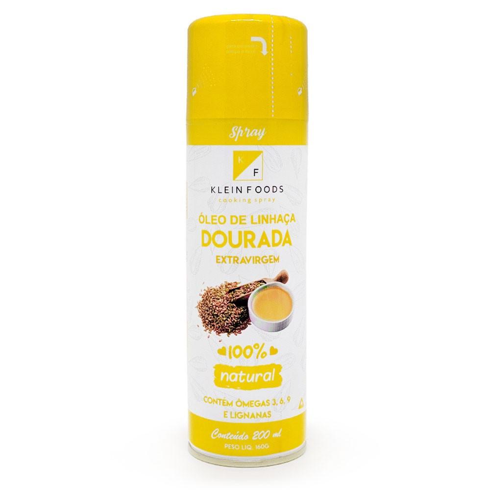 Oleo De Linhaca Dourada Extra-Virgem Spray 200ml - Klein Foods