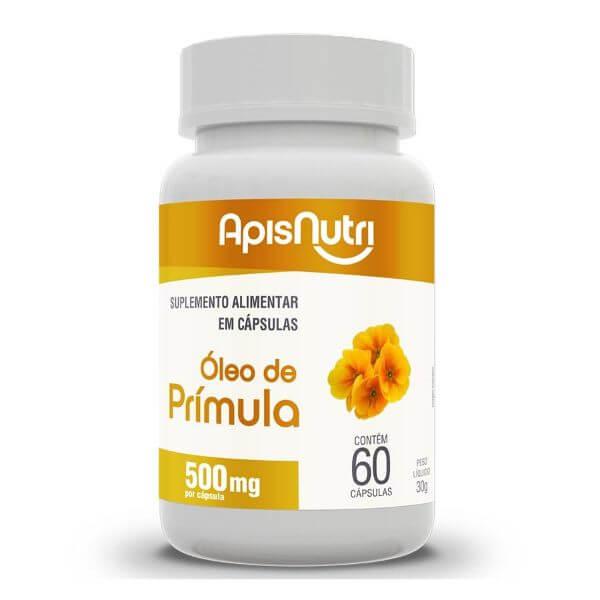 Óleo De Primula 60 Cápsulas De 500mg - Apisnutri