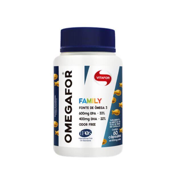 Omega Family 60 Cápsulas de 500mg - Vitafor