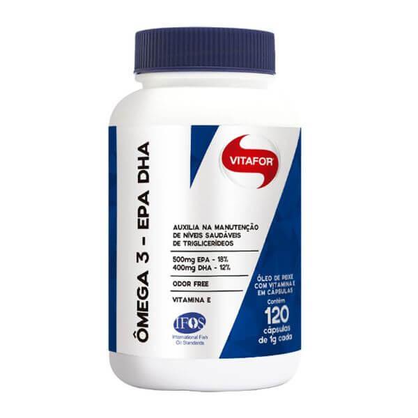 Ômegafor 120 Cápsulas De 1000mg - Vitafor