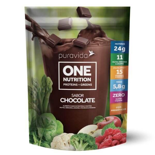 One Vegan Sabor Chocolate 450gr - Pura Vida