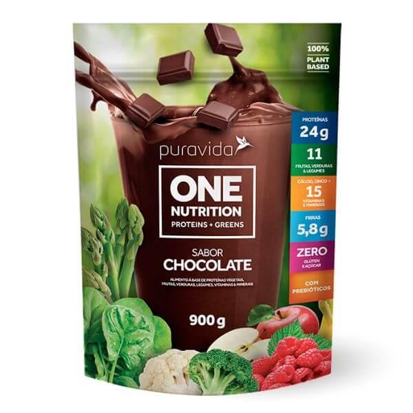 One Vegan Sabor Chocolate 900gr - Pura Vida