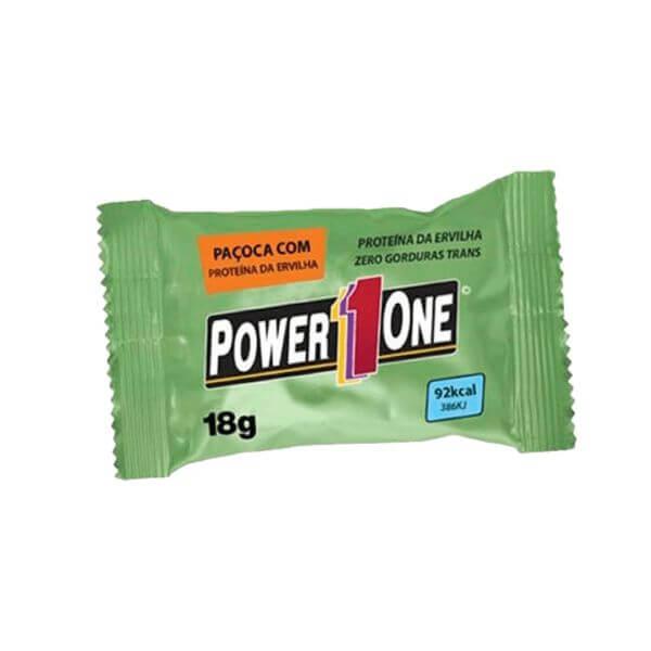 Paçoca Rolha Power One Vegana Proteíca 18g UND