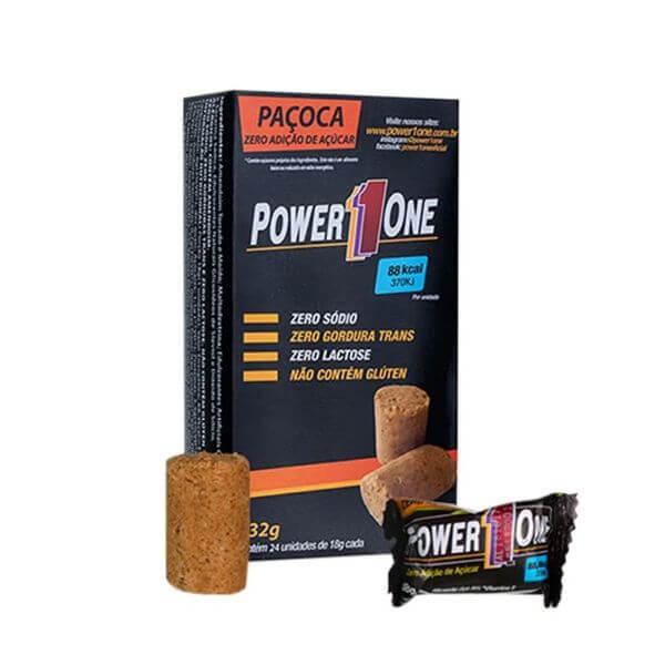 Pacoca Rolha Zero Display Com 24Und De 18G - Power One