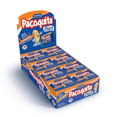 Paçoquita Diet Caixa com 24unds - Santa Helena
