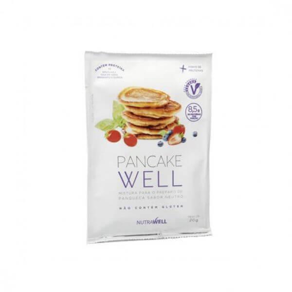Panqueca Proteica Vegana - Sache 20g Pancake Well