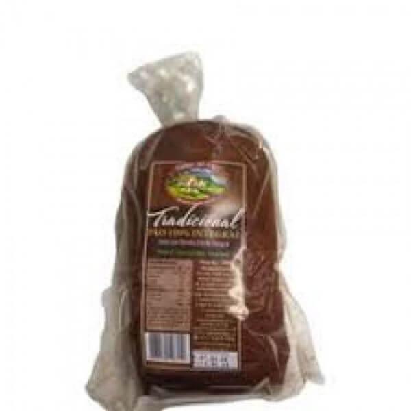 Pão 100% Integral Tradicional - Moinho do Vale