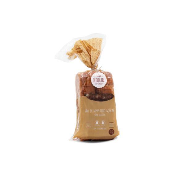 Pão De Aipim Zero Açúcar Sem Glúten E Sem Lactose 450gr - Di Mangiare